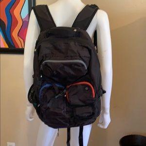 Amazing LULULEMON Traveling School Backpack LARGE